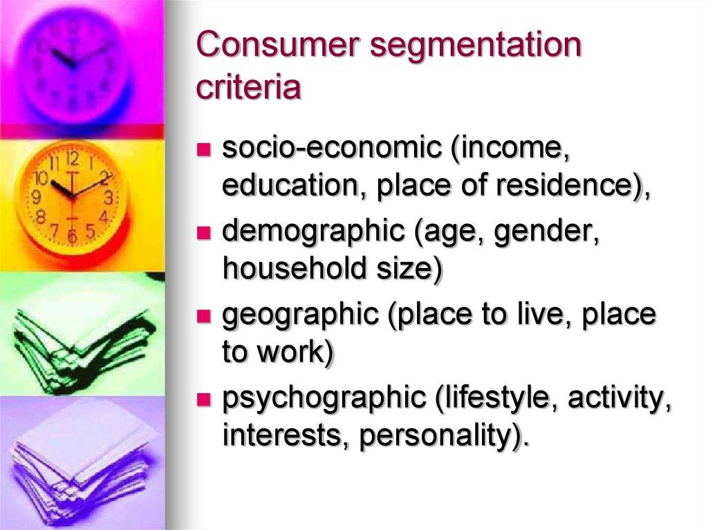 the vals segmentation system