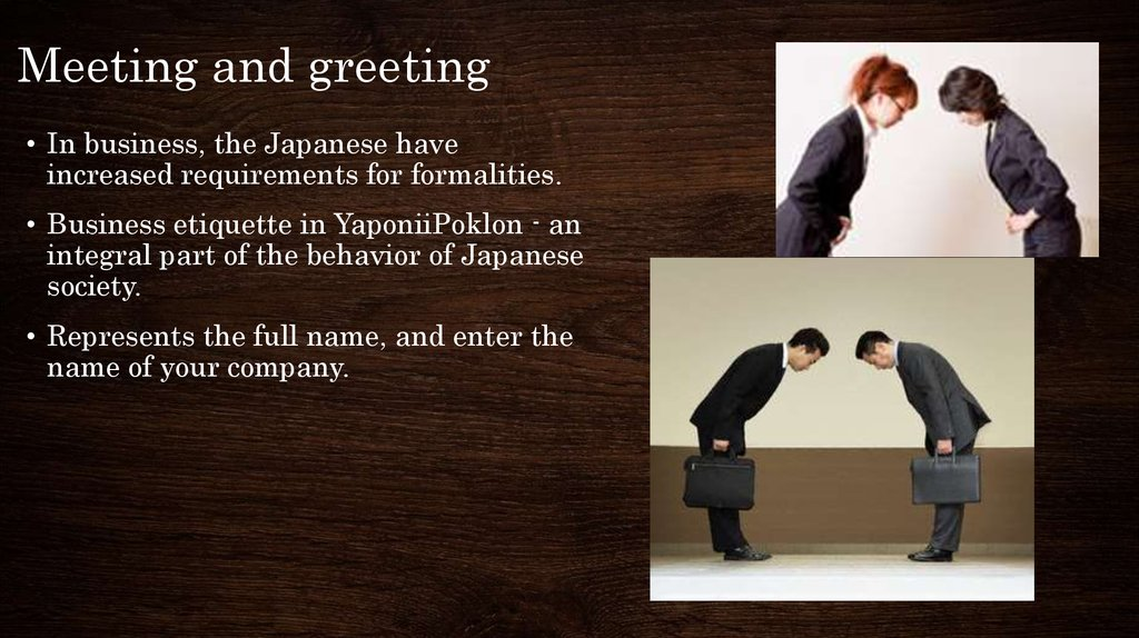 Business culture of Japan - online presentation