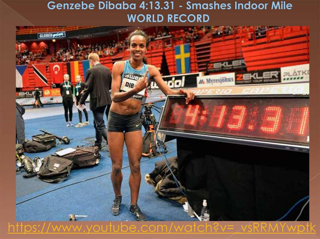 Genzebe Dibaba 4:13.31 - Smashes Indoor Mile WORLD RECORD