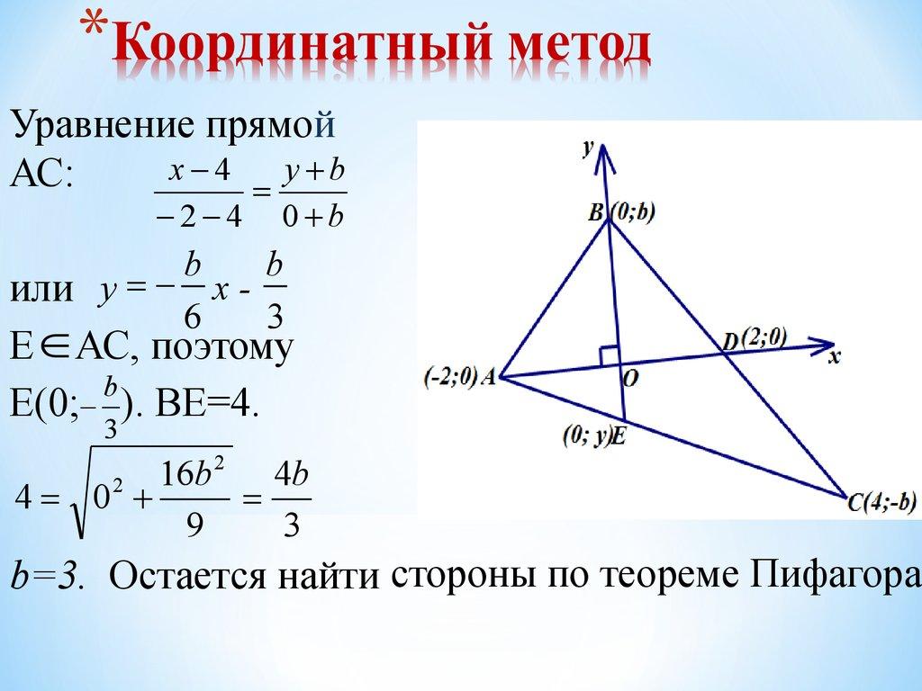 Методы решения задач планиметрии неопределенность решения задач прогнозирования