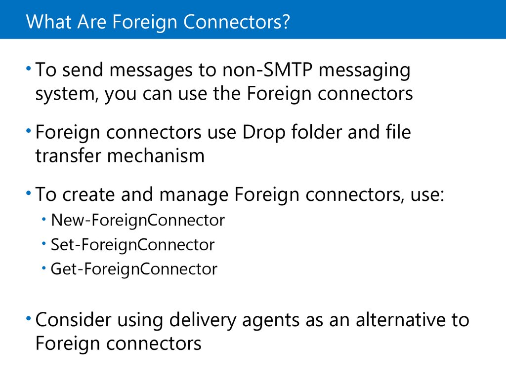 What Is an SMTP Connector?
