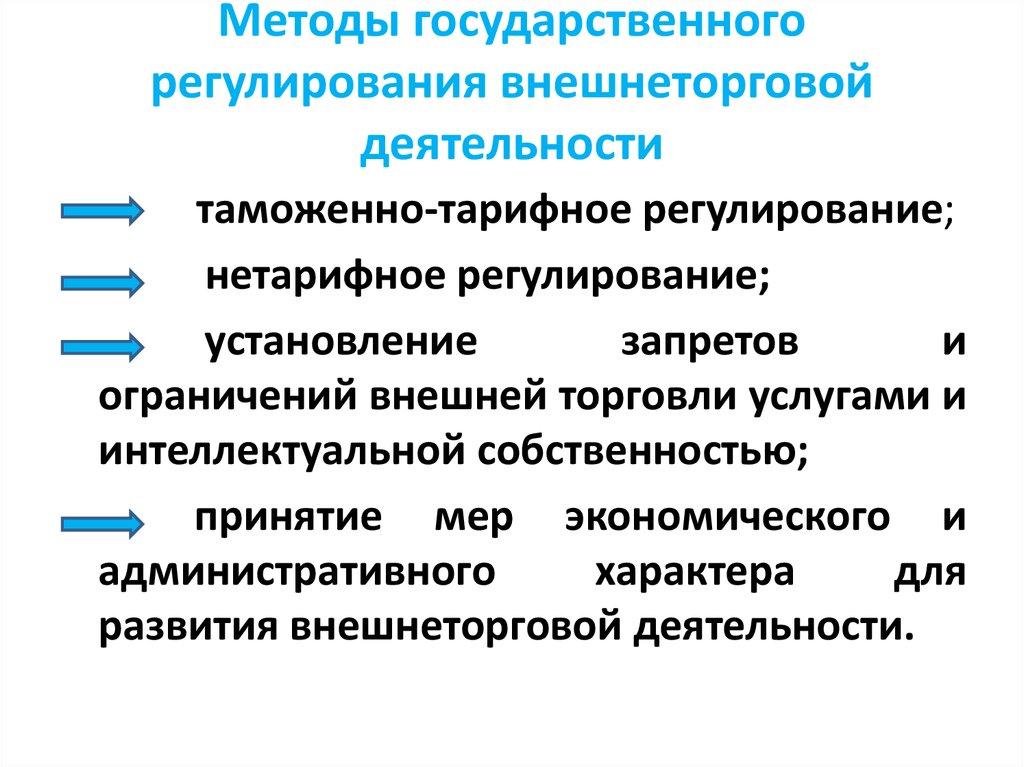 Таможенное регулирование в россии реферат 5895