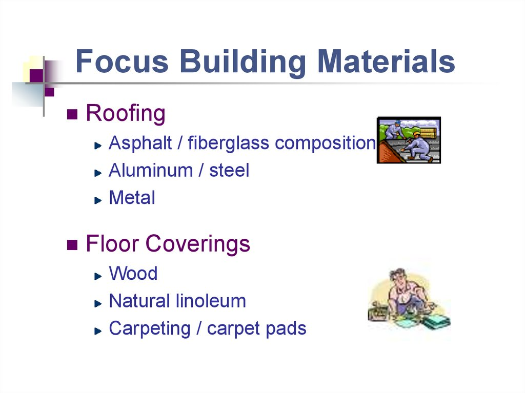 Focus Building Materials