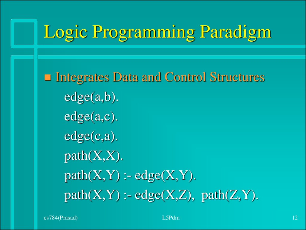 Logic Programming Paradigm
