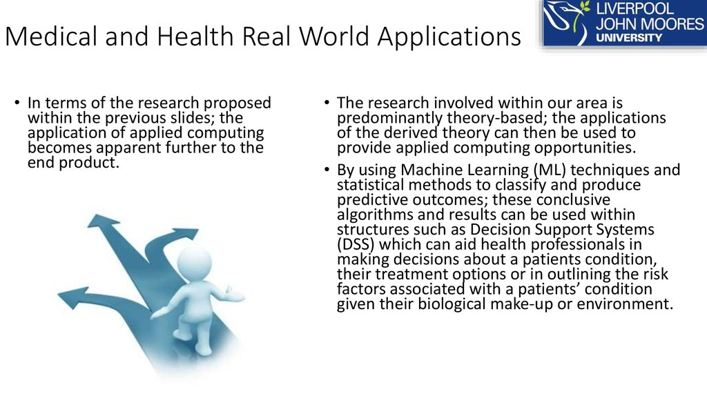Medical and Health Real World Applications