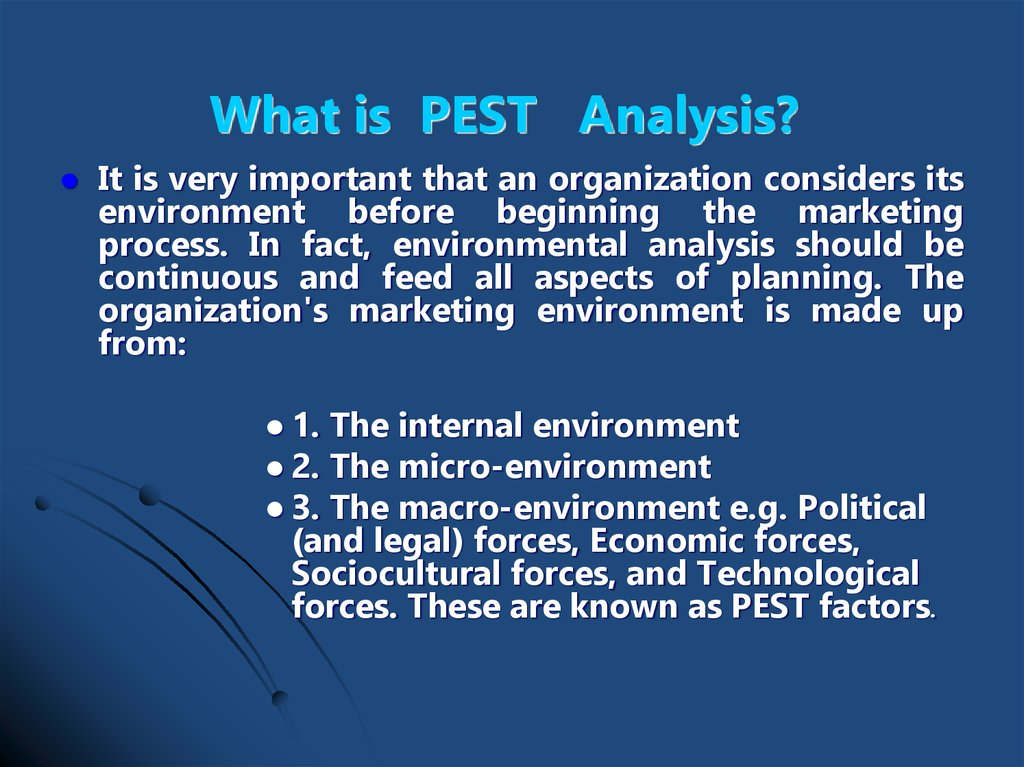 car wash pest analysis 22 macro-environment analysis by use pest analysis pest is an acronym for political, economic  first, engineering and innovation in car designing.