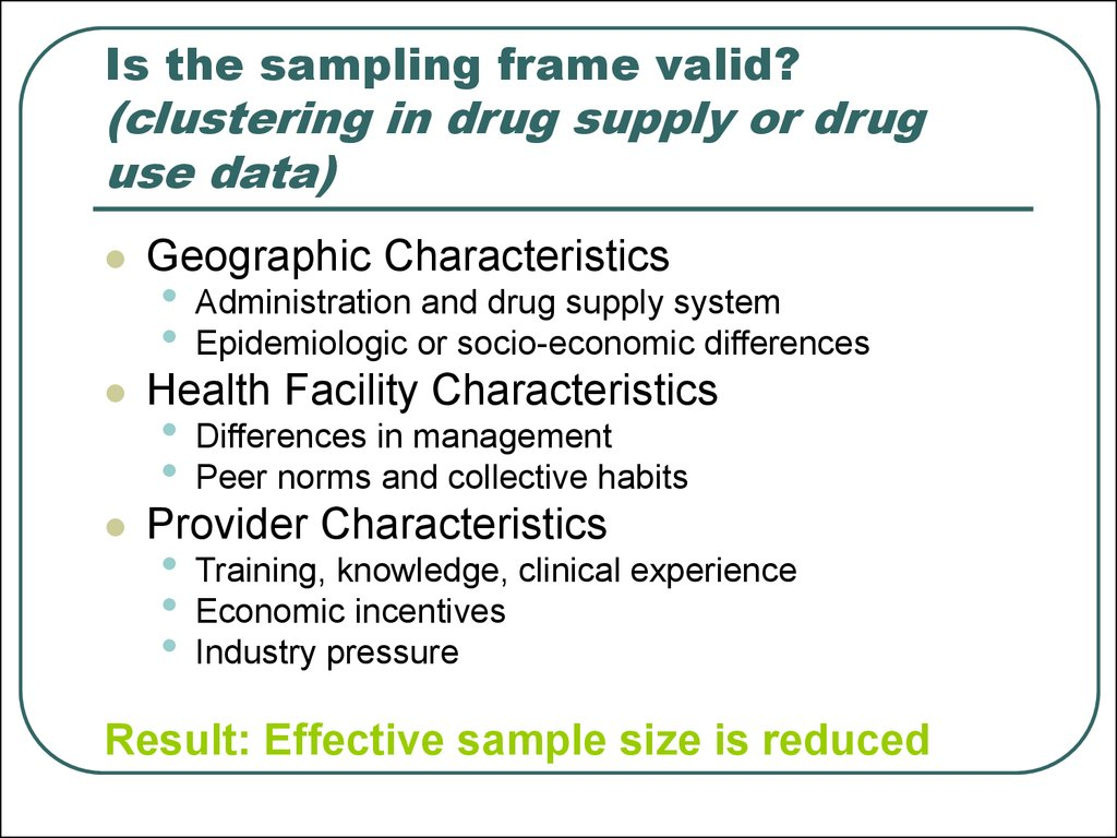 Pharmaceutical monitoring and evaluation - online presentation