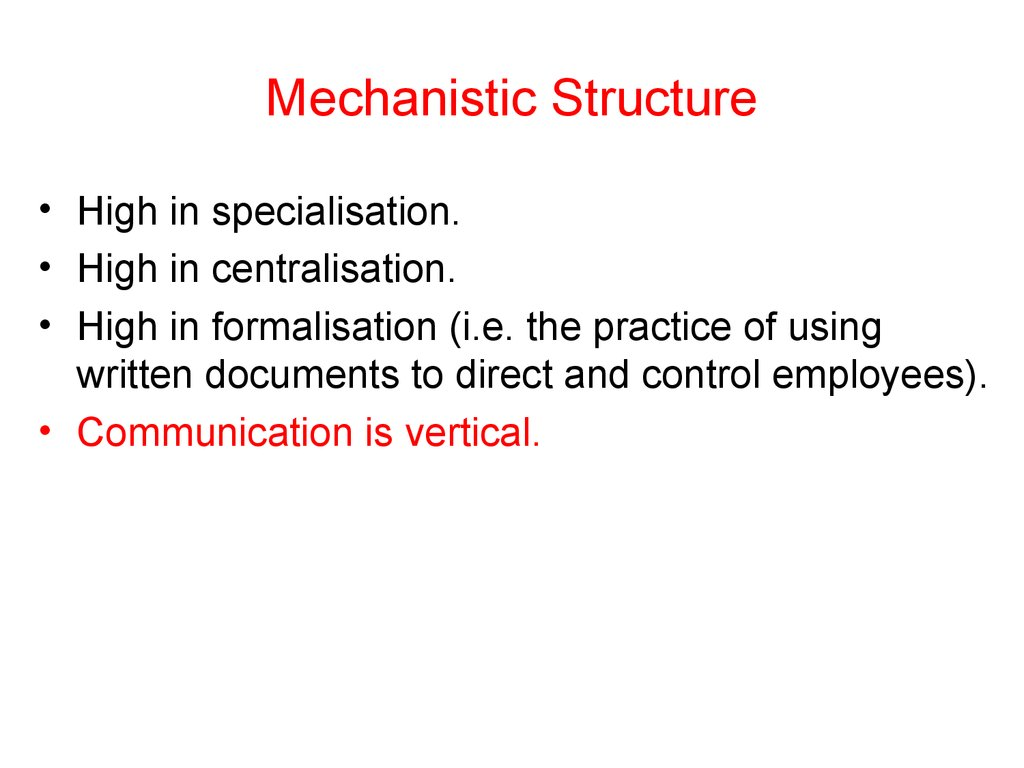 communications mechanistic perspective Let us examine communication and communication theory through the following viewpoints: mechanistic - the mechanistic view point says that communication is simply the .