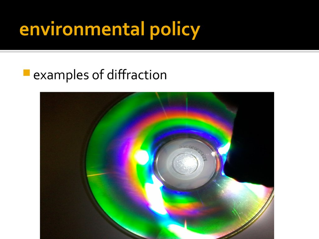 diffraction  basic facts