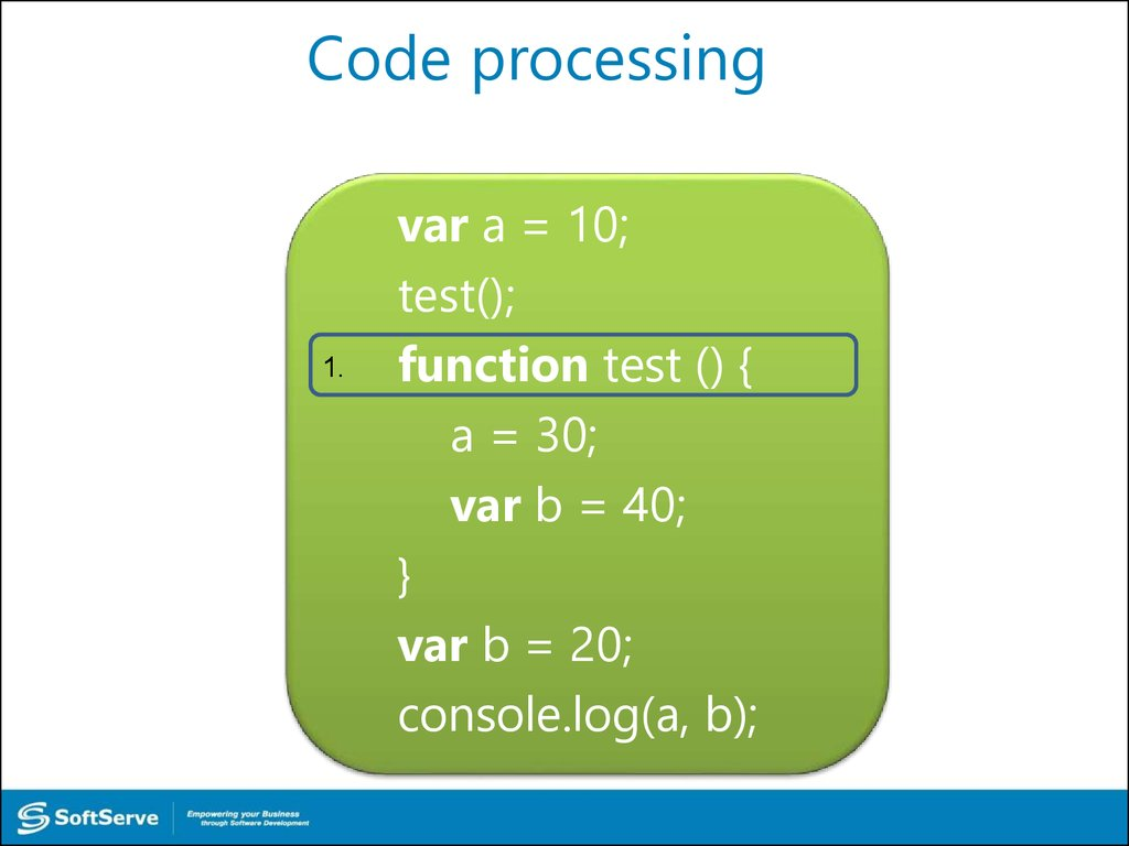 Code processing