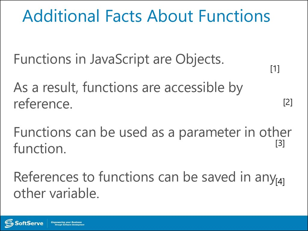 Additional Facts About Functions