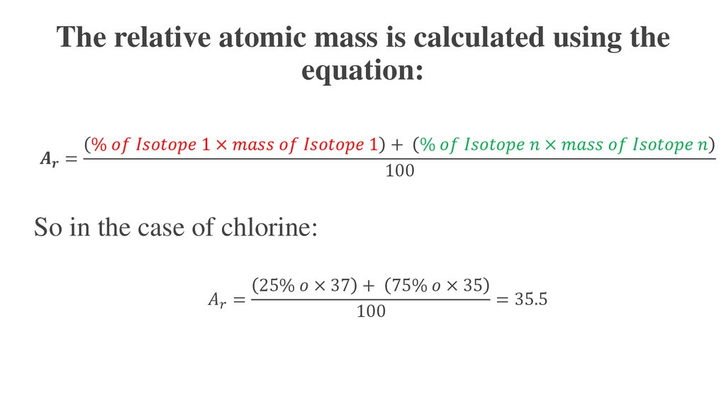 atomic mass online presentation