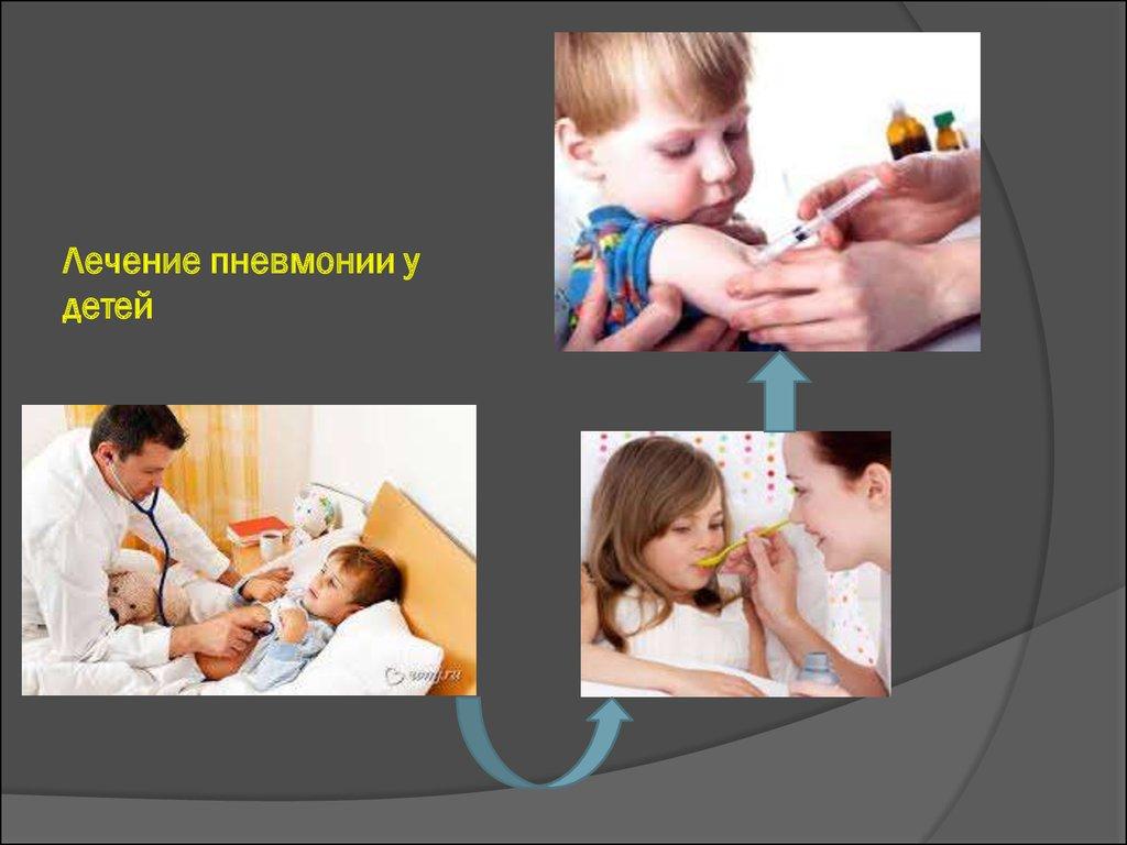 Сестринский процесс при пневмонии у детей взрослых и лиц пожилого   Лечение пневмонии у детей ЗАКЛЮЧЕНИЕ