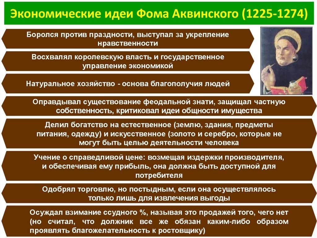 Аквинского шпаргалка ф. доктрины