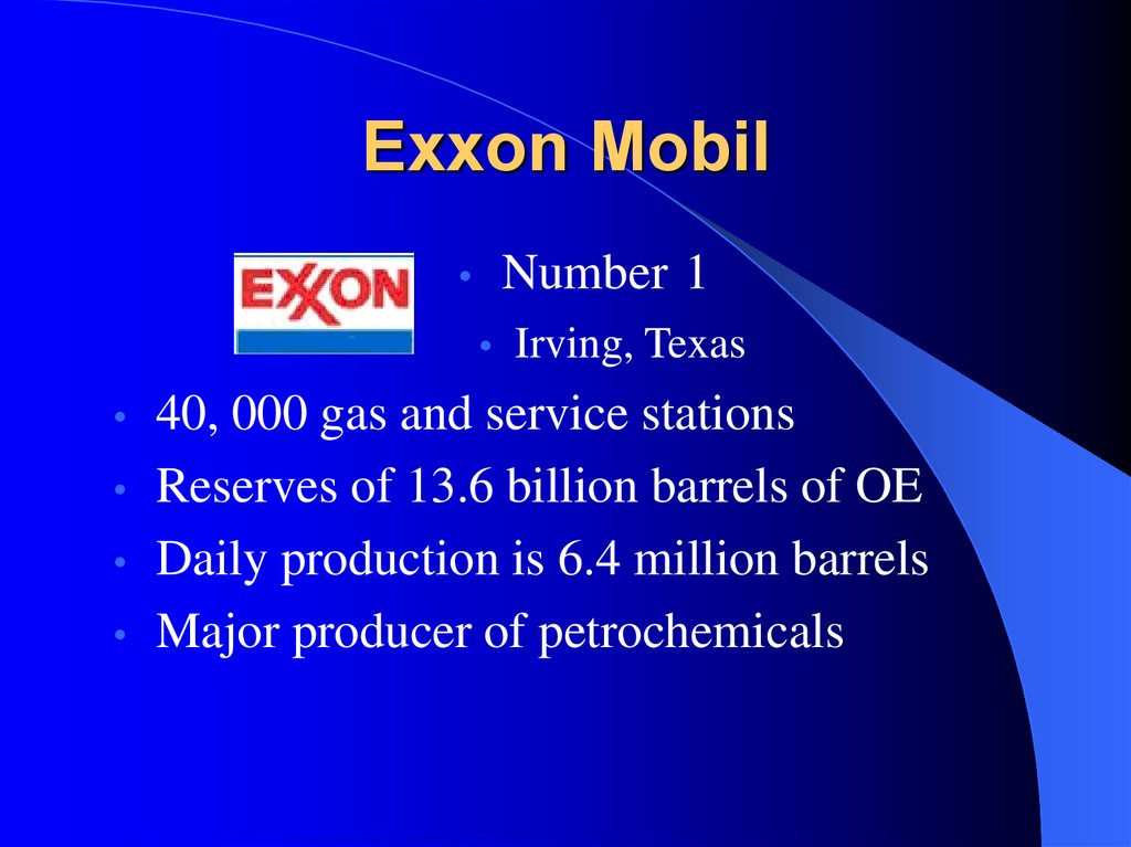an introduction to an analysis of exxon mobil merger trend Introduction  analysis of future trends this report will serve to  the  exxonmobil corporation is an american multinational oil and gas corporation it  was formed on november 30, 1999, by the merger of exxon and mobil.