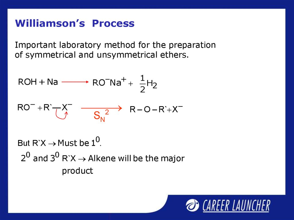 Williamson's Process