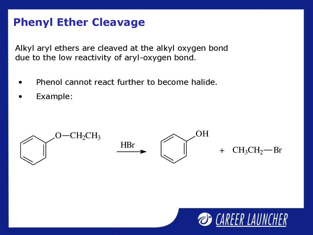 Phenyl Ether Cleavage