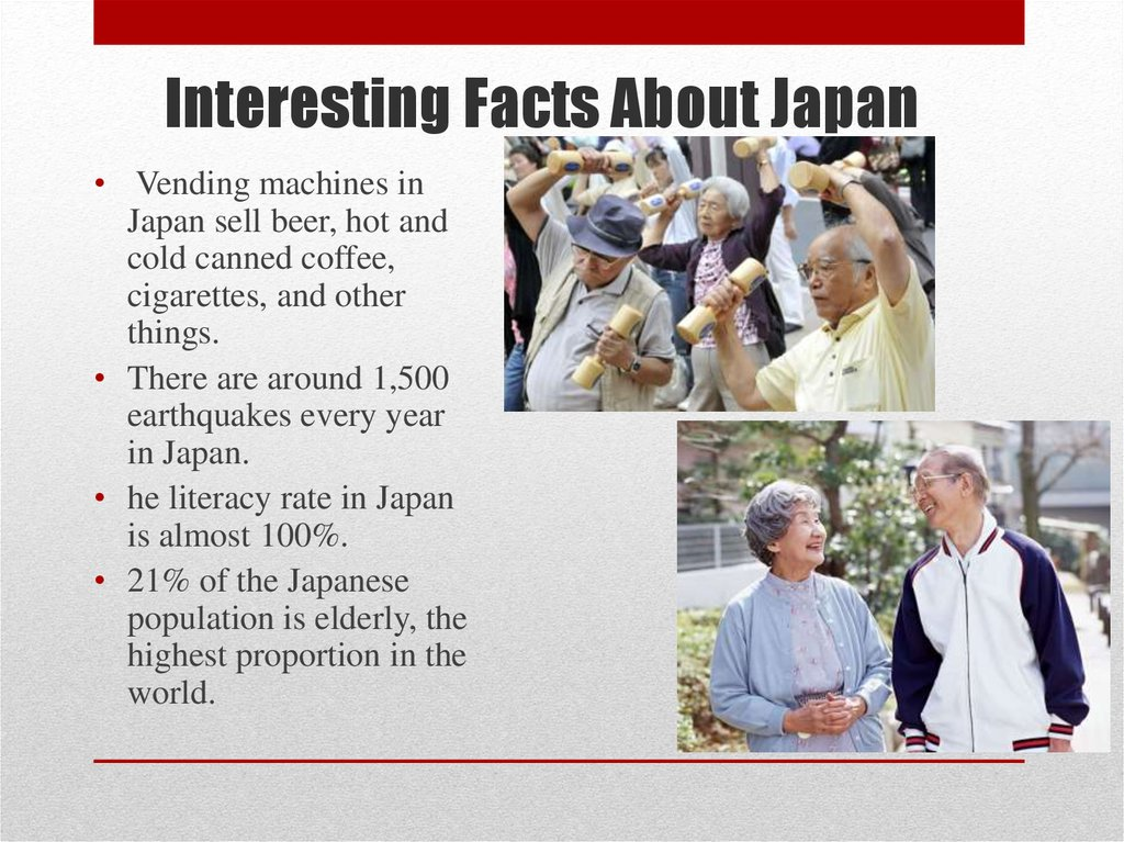 Interesting Facts About Japan