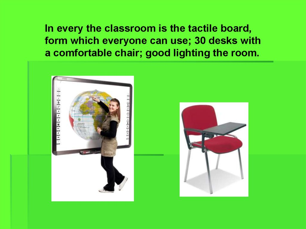 my ideal classroom in my ideal school