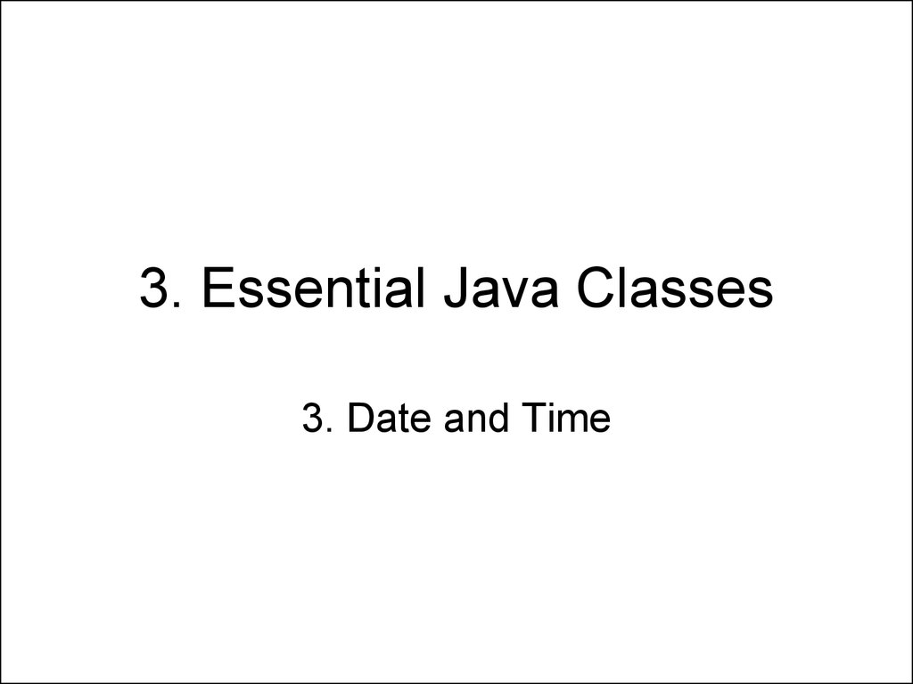 Java long time to date online