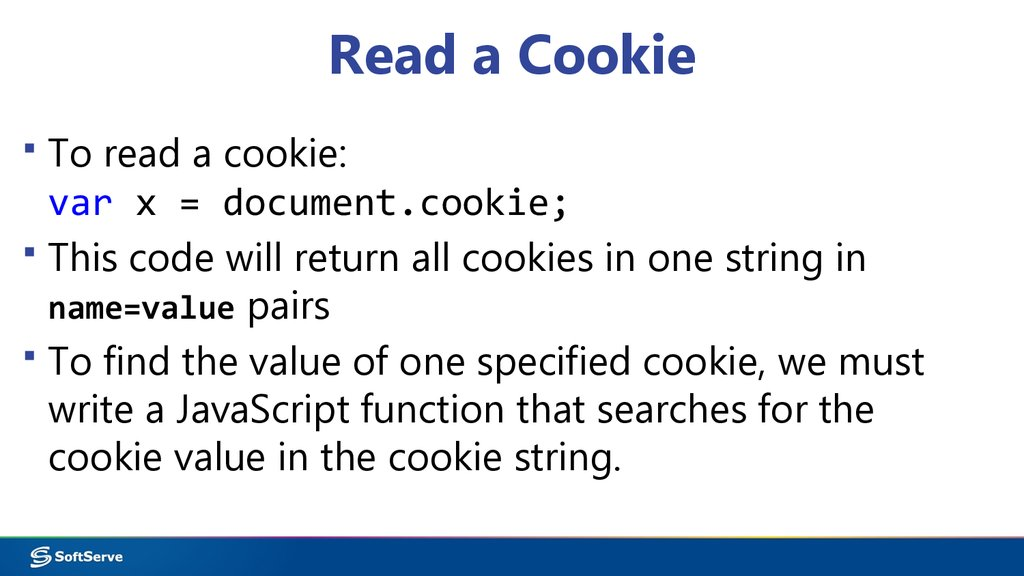 Read a Cookie