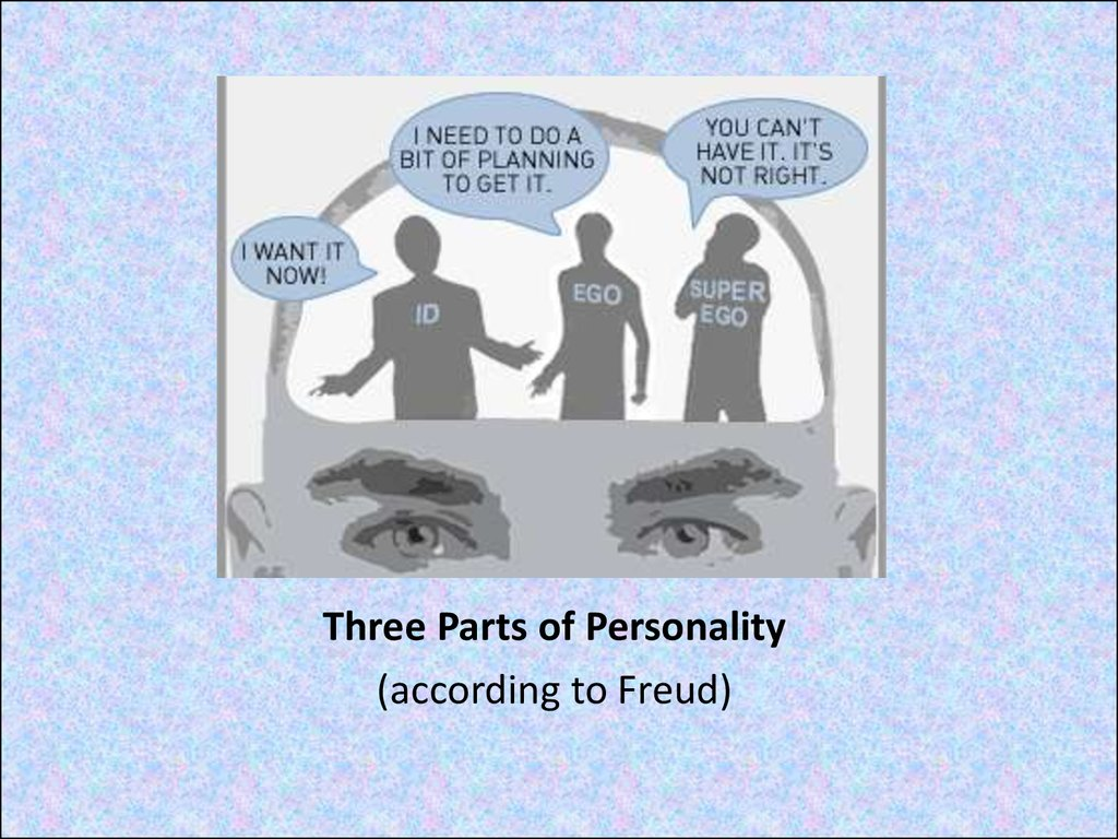 Three Parts of Personality