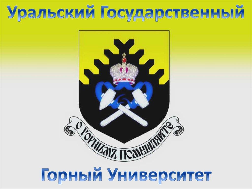 Заявка на дистанционное обучение в Уральский государственный горный университет
