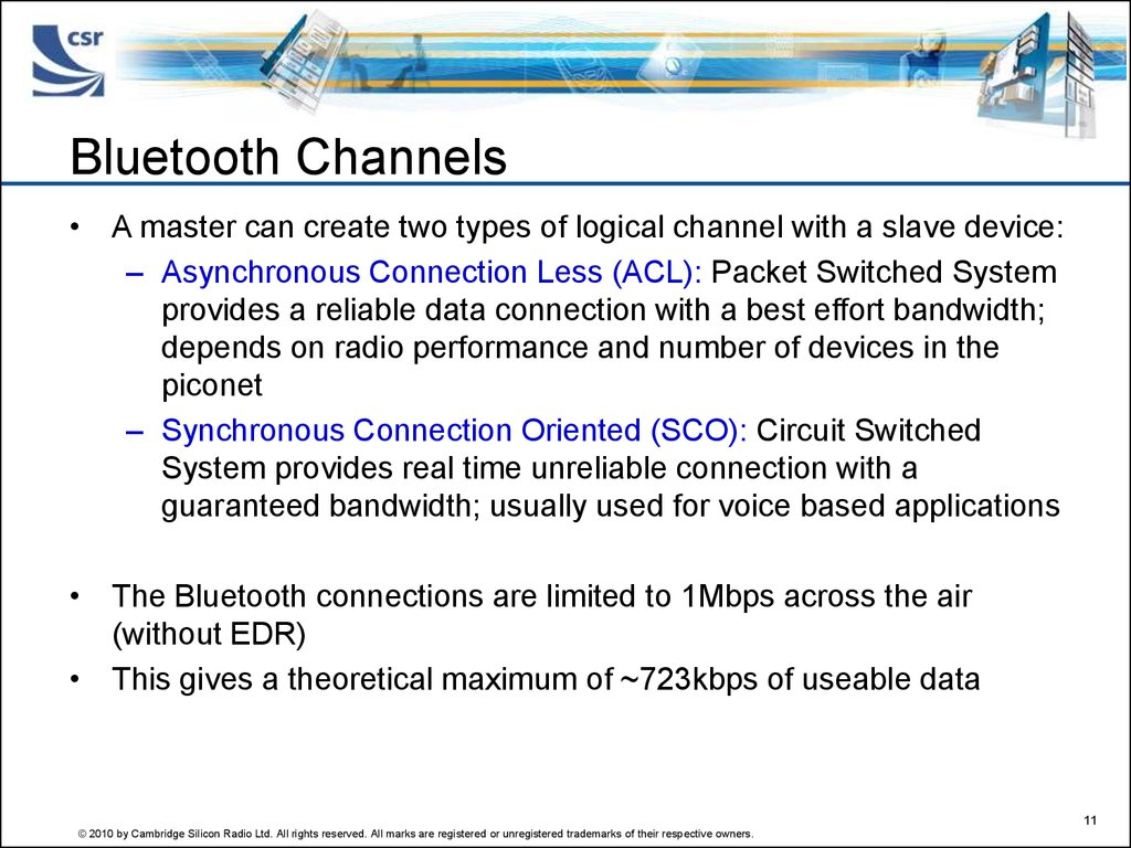 Bluetooth Channels