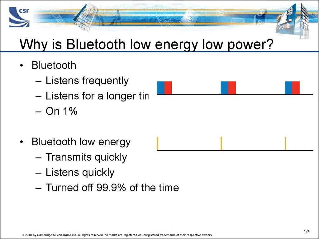 Why is Bluetooth low energy low power?