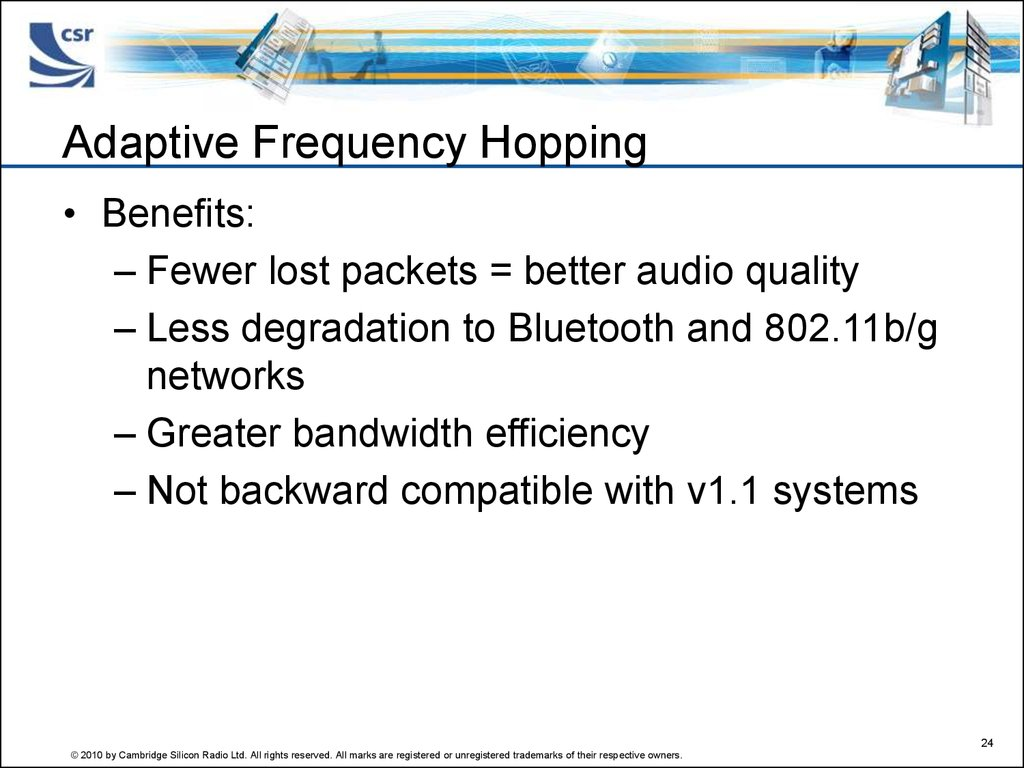 Adaptive Frequency Hopping
