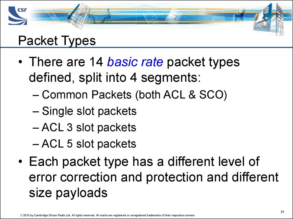 Packet Types