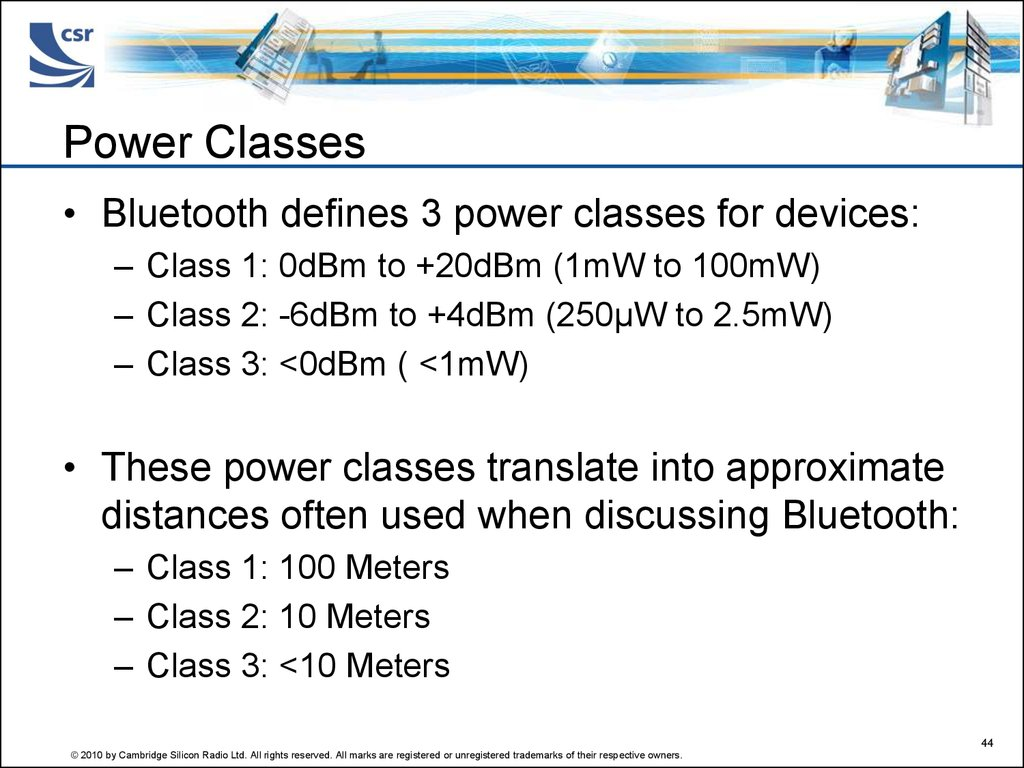 Power Classes