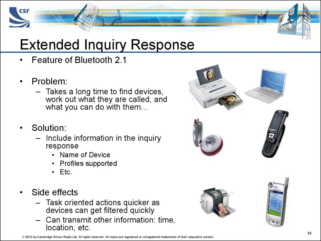 Extended Inquiry Response
