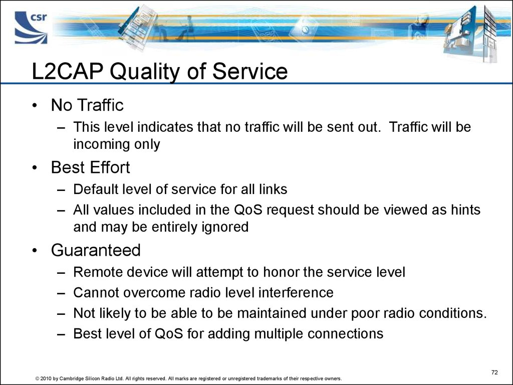 L2CAP Quality of Service
