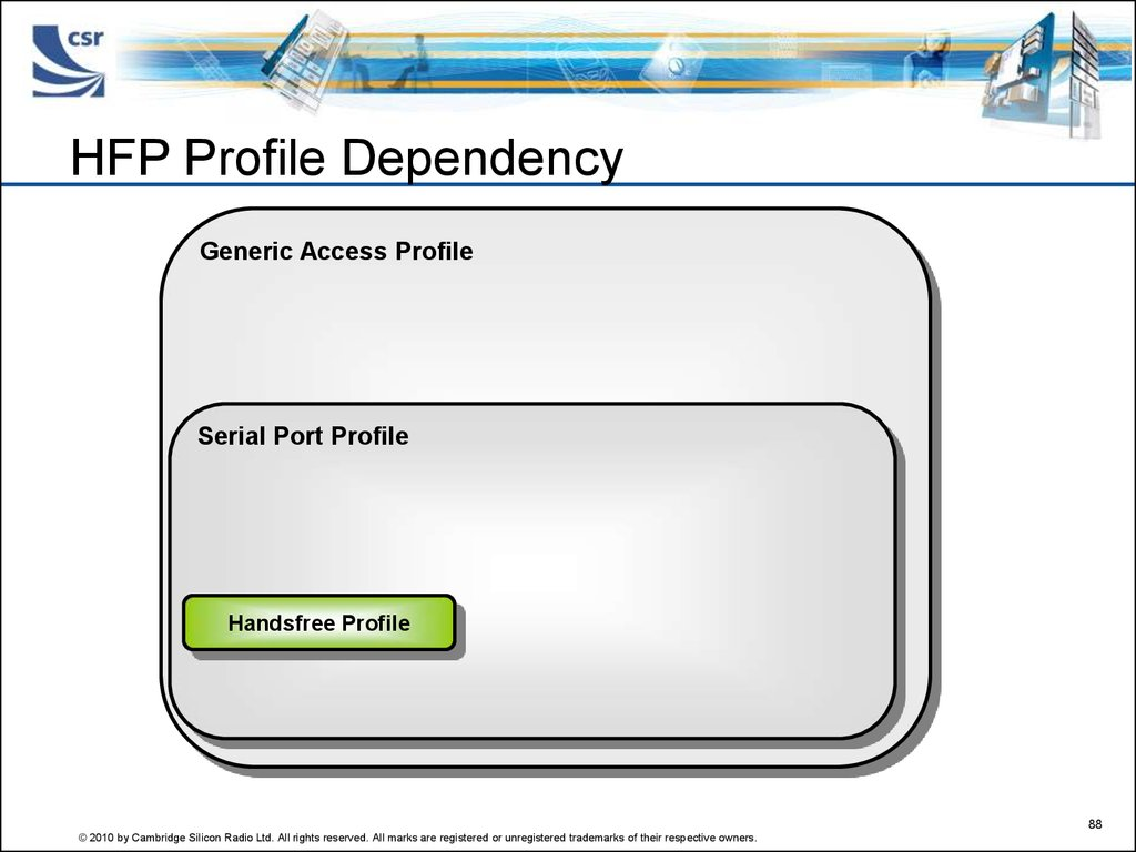 HFP Profile Dependency