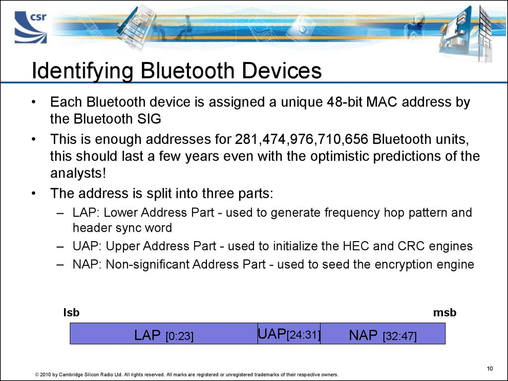 Identifying Bluetooth Devices