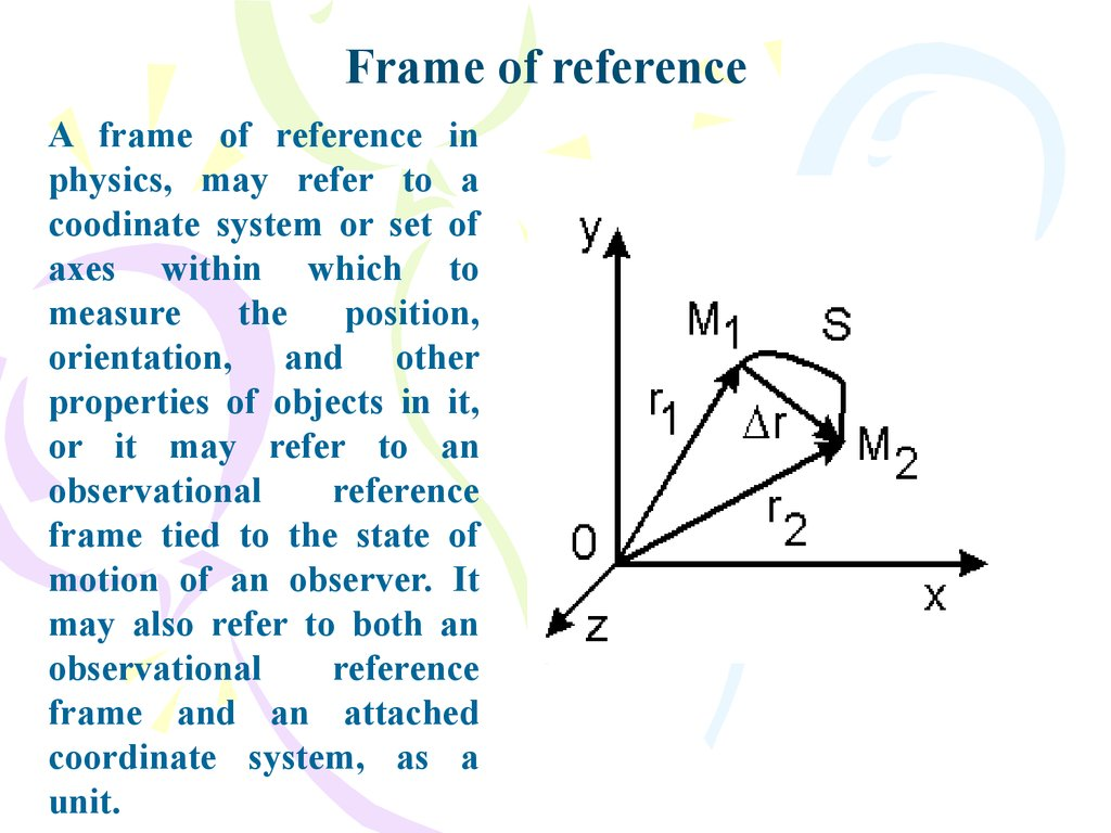 Physics and Measurement. Vectors. Course of lectures «Contemporary ...
