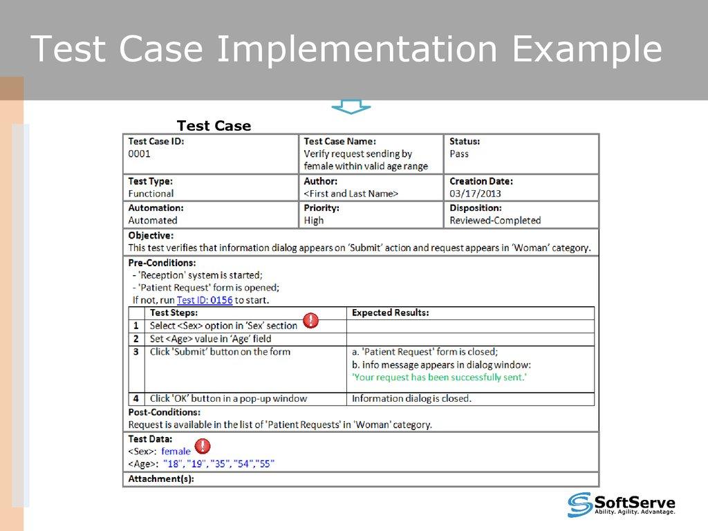 Test Cases Overview V 1 5 презентация онлайн