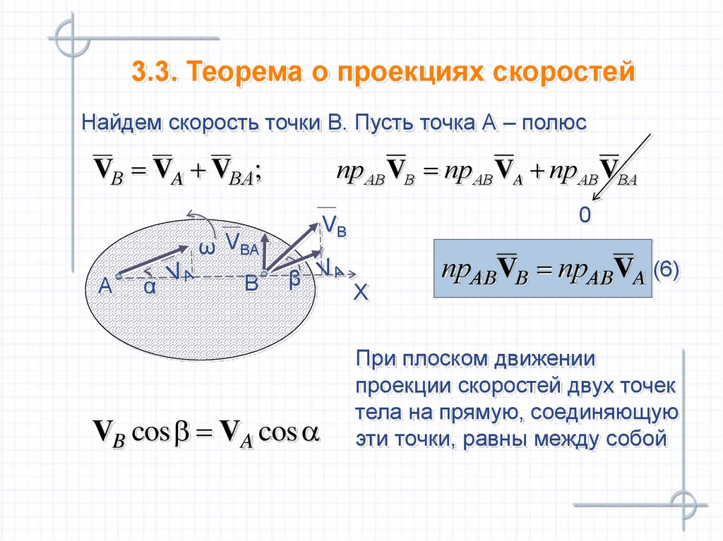 projection theorem Theorem (parallel projection): given two lines l and m, locate points a and an on the two lines, we set up a correspondence p : pn between the points of l and m by requiring that , for all p on l.