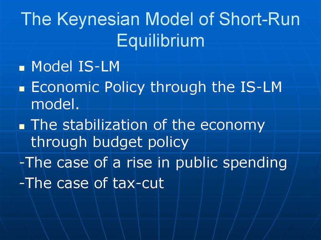 keynesian model