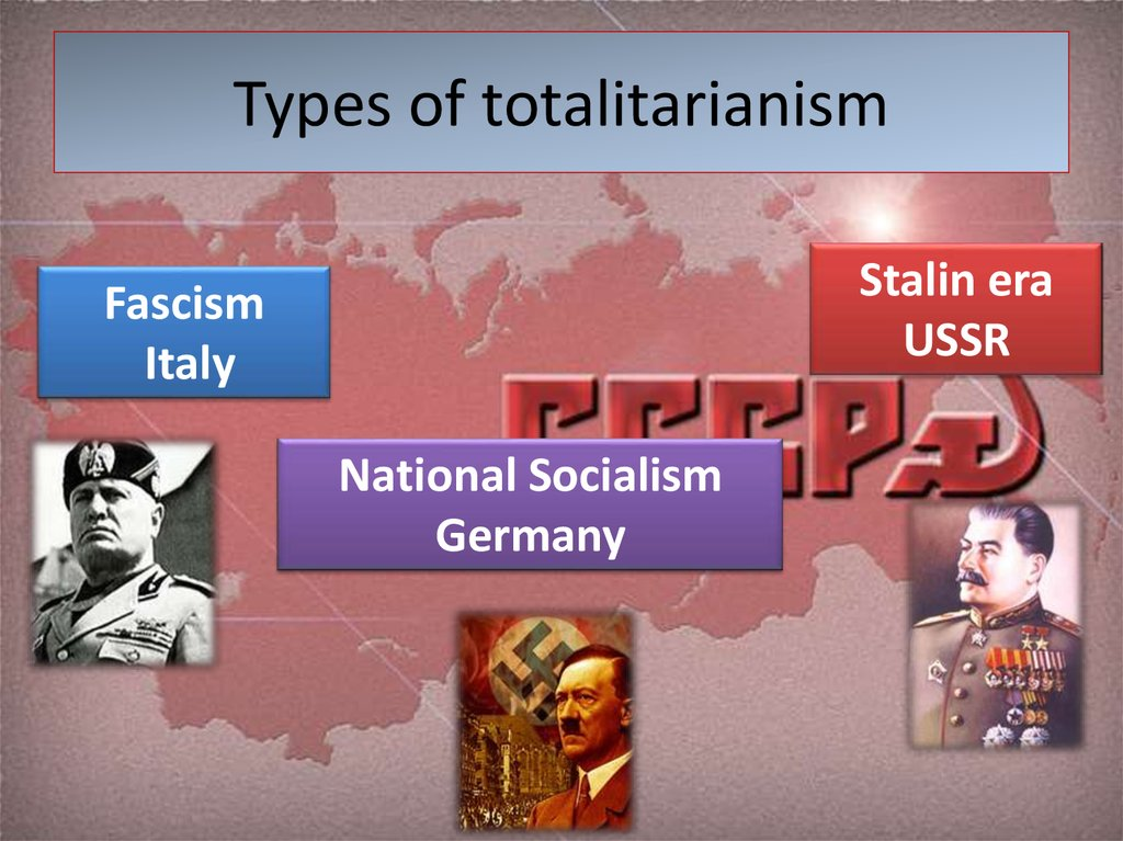 Types of totalitarianism