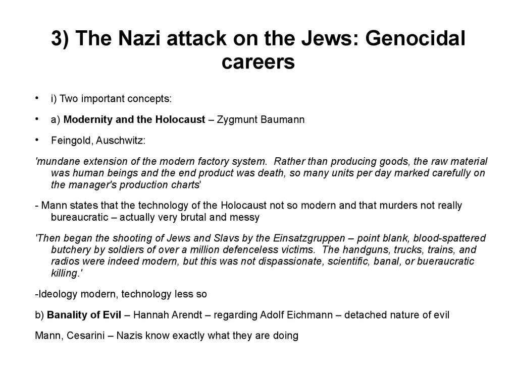Jew Detector: Ethnic Cleansing During The Second World. War The Nazi