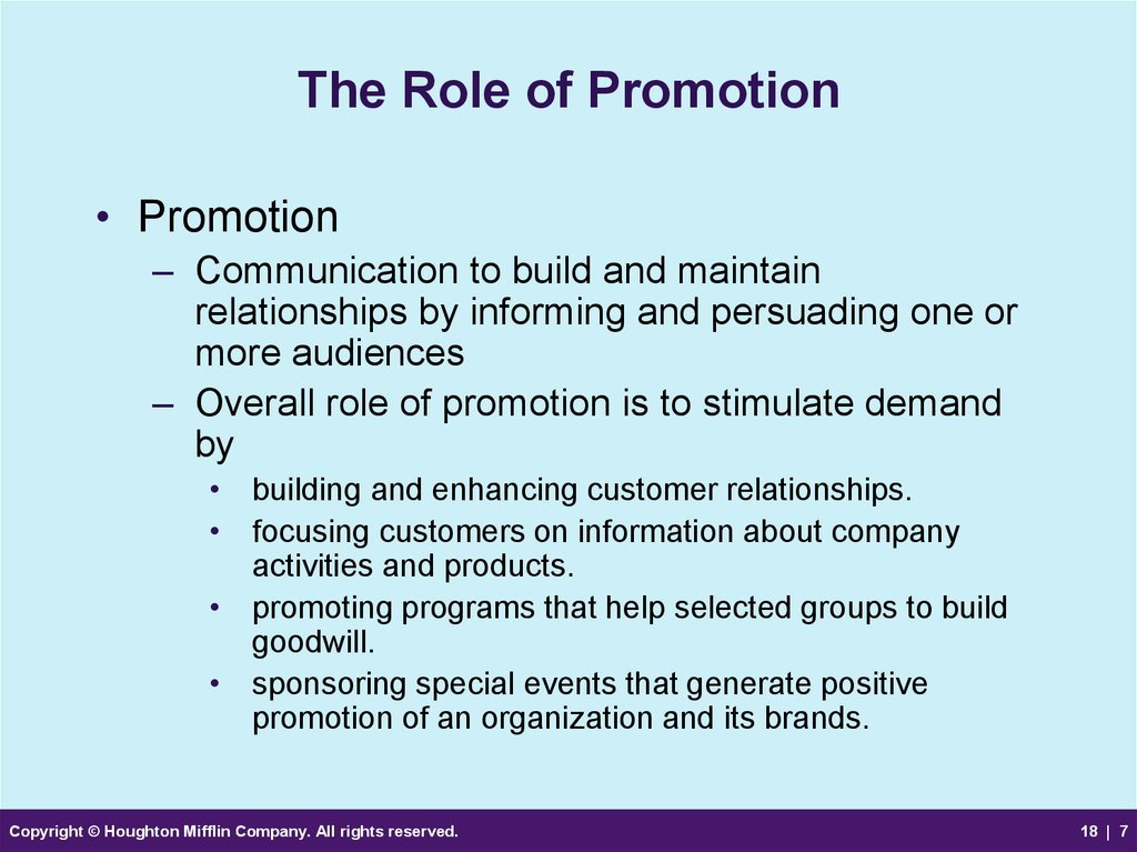understand the role of promotion within The role of public health in mental health promotion mental illness contributes a substantial burden of disease worldwide globally, approximately 450 million persons suffer from mental disorders (1), and one fourth of the world's population will develop a mental or behavioral disorder at some point during their lives (2)mental disorders account for approximately 25% of disability in the.