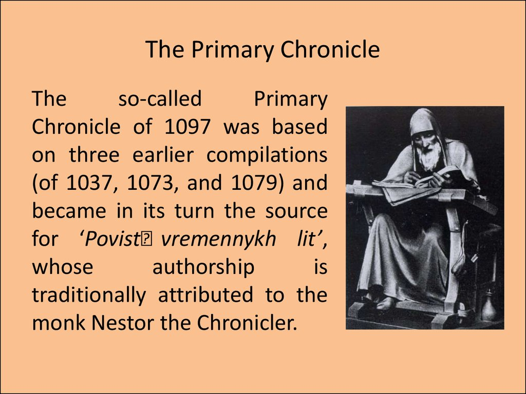 The Primary Chronicle