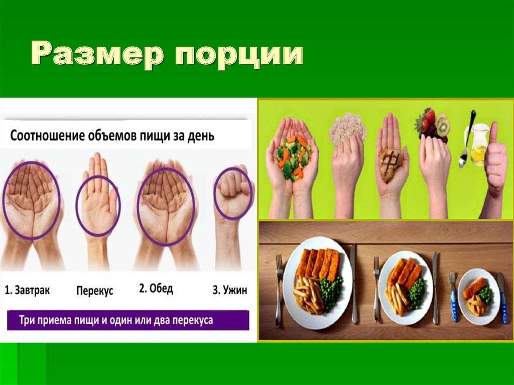 Правило руки для похудения
