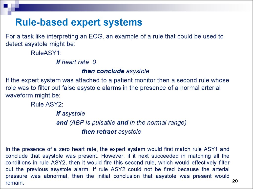 Expert System Clinical Decision Support Systems Online Presentation