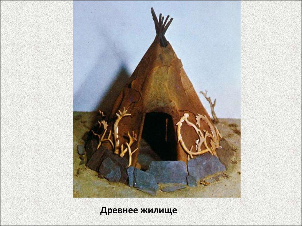древние жилища человека картинки для