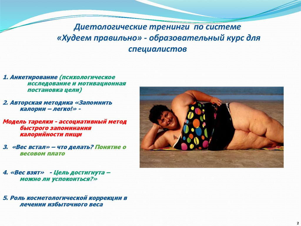 Психологический Тренинг Похудения Онлайн.