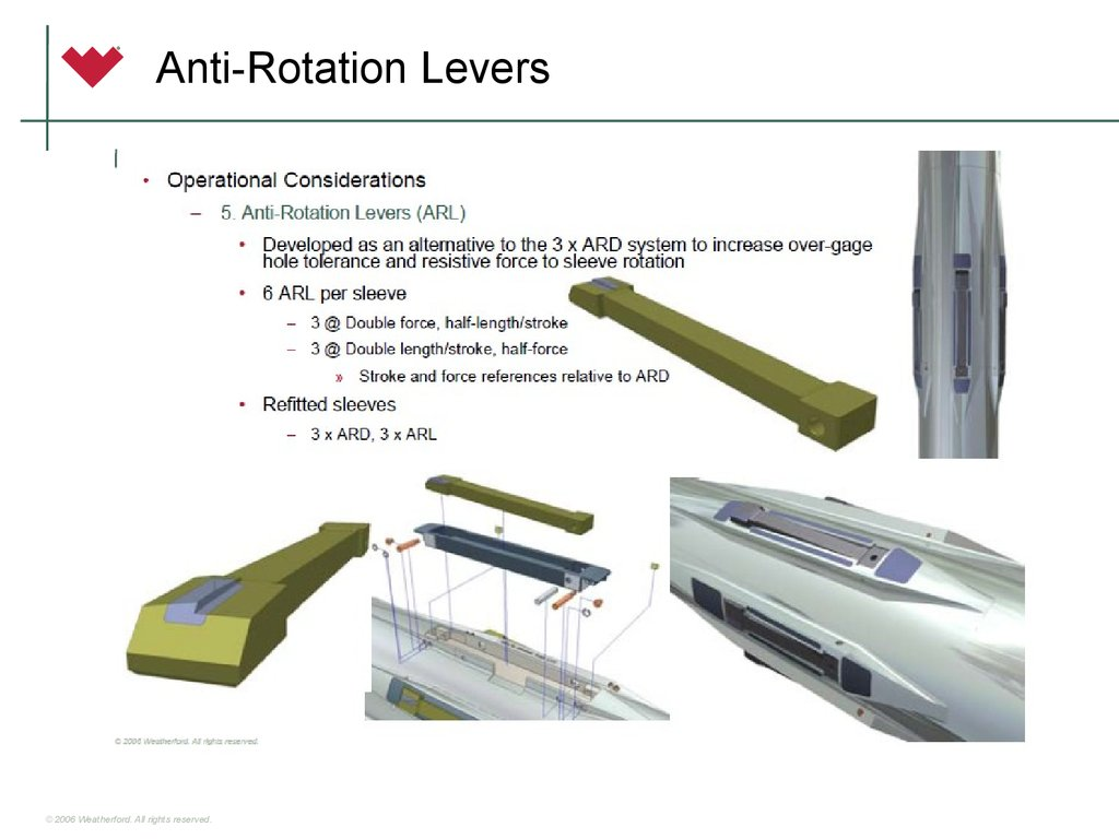 Anti-Rotation Levers