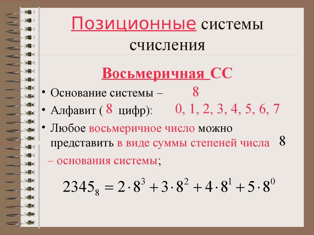 картинки с позиционными системами счисления минимализме ровные